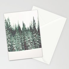 Snow on the Pines Stationery Cards