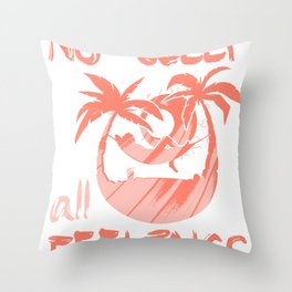 Insomnia Sleeping Tired Gift Bed Dream Throw Pillow