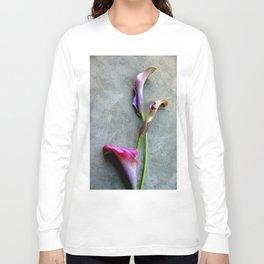 Colorful Callas Long Sleeve T-shirt