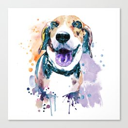 Sweet Beagle Canvas Print