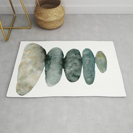 Stacking Stones - Cairn I  Rug