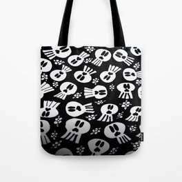 skulls and flowers 001 Tote Bag