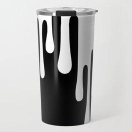 WHITE DRIPPING Travel Mug