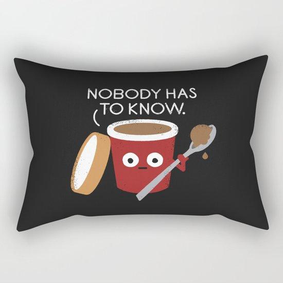 Cold Comfort Rectangular Pillow