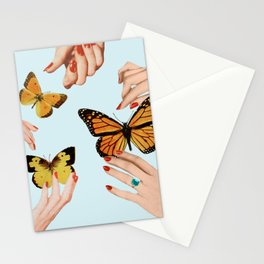 Social Butterflies Stationery Cards