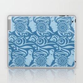 Blue Denim Diva Laptop & iPad Skin