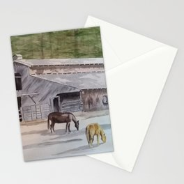 Old Horse Barn Stationery Cards