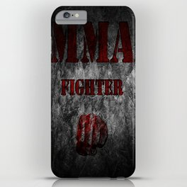 MMA Fighter iPhone Case