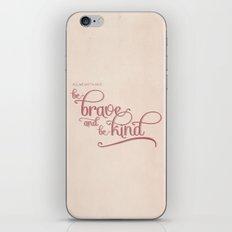 baby we'll be fine iPhone & iPod Skin