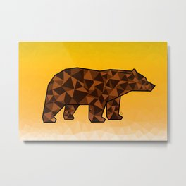 Baloo Honey Bear  Metal Print