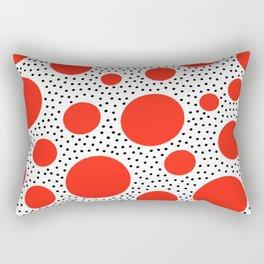 King of Polka Dots Rectangular Pillow