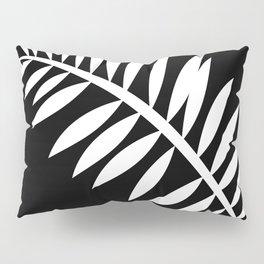 PALM LEAF WHITE LEAF Pillow Sham