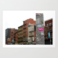 only in nyc Art Print