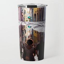 A Reflection of City Life by GEN Z Travel Mug