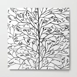 Branches and Buds Metal Print