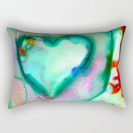 Heart Dreams 4N by Kathy Morton Stanion Rectangular Pillow