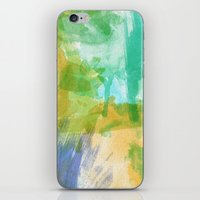the strokes iPhone & iPod Skins featuring strokes by Carrie Baum