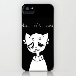 im cool iPhone Case