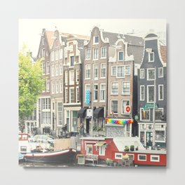 After The Rain - Amsterdam Metal Print
