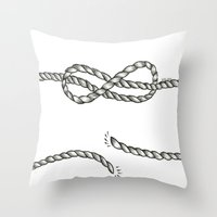 louis tomlinson Throw Pillows featuring Louis Tomlinson rope by Adele_F