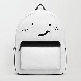 HAPPY FRECKLED HATLESS FACE Backpack