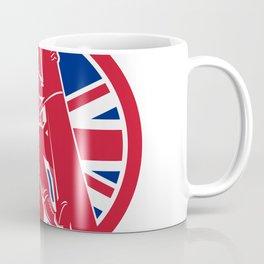 British Linesman Union Jack Flag Icon Coffee Mug