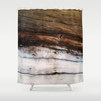 moby dick Shower Curtains featuring Moby Dick by RichCaspian