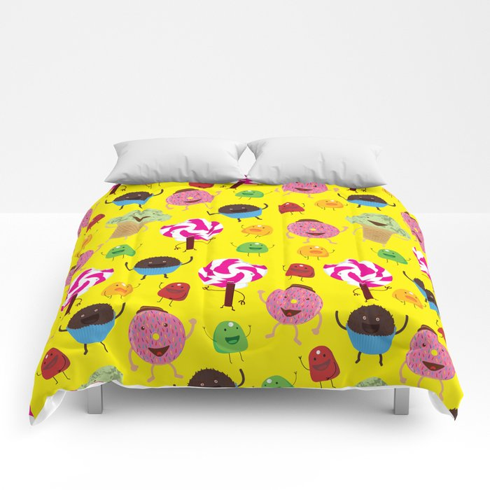 Candy People Comforters