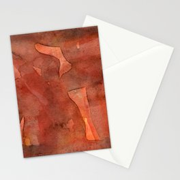Abstract Nudes Stationery Cards