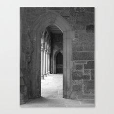 Cloister View Canvas Print