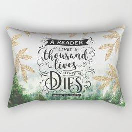 Thousand Lives Rectangular Pillow