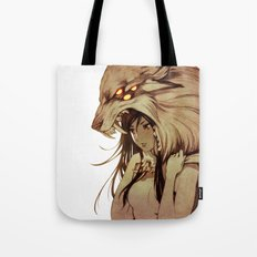 The Prey and the Hunter Tote Bag