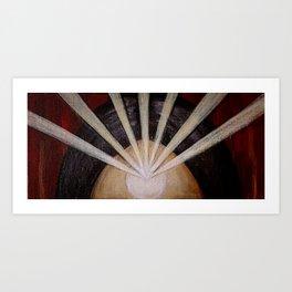Light Rays Art Print