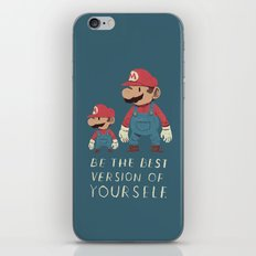 be the best version of yourself iPhone Skin