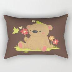 Hello Bear Rectangular Pillow