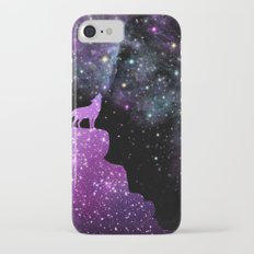 Nebula Wolf iPhone 7 Slim Case