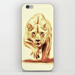 Hunting gently iPhone Skin