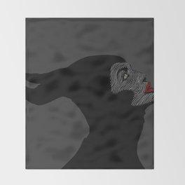 Malificent Lines Throw Blanket