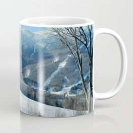 Ski Trails at Sugarbush Resort, Vermont Coffee Mug