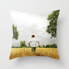 Large African skies Throw Pillow