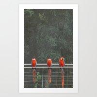 3 amigos Art Print
