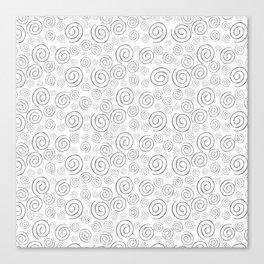 """Swirls/Rulitos"" Canvas Print"