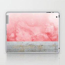 Concrete and Pink Laptop & iPad Skin
