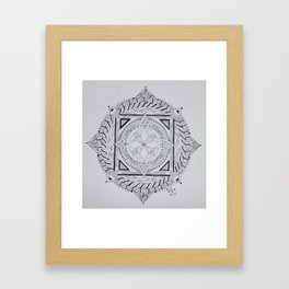 Celtic Mandala 2 Framed Art Print