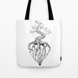 Heart Root Tote Bag