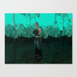 Survivor is comming out Canvas Print