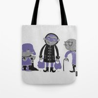superheroes Tote Bags featuring Superheroes! by monrix