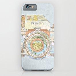 TRAVEL NIK0N iPhone Case