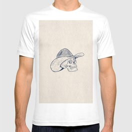 Cowboy Skull with Halftones T-shirt