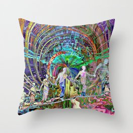 The Ties That Bind Us Throw Pillow